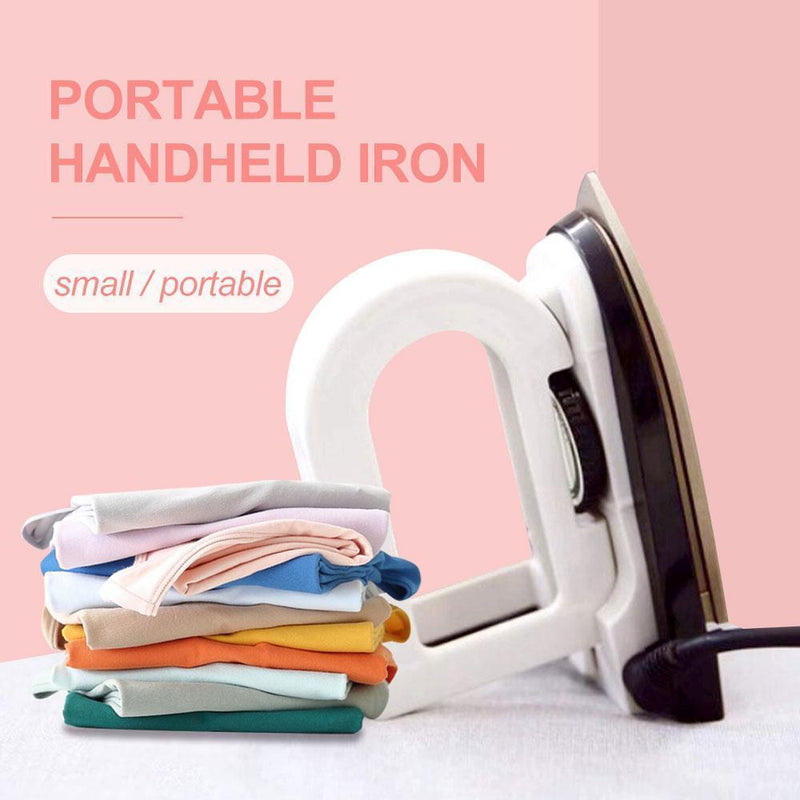 Portable Handheld Iron With Universal Plug