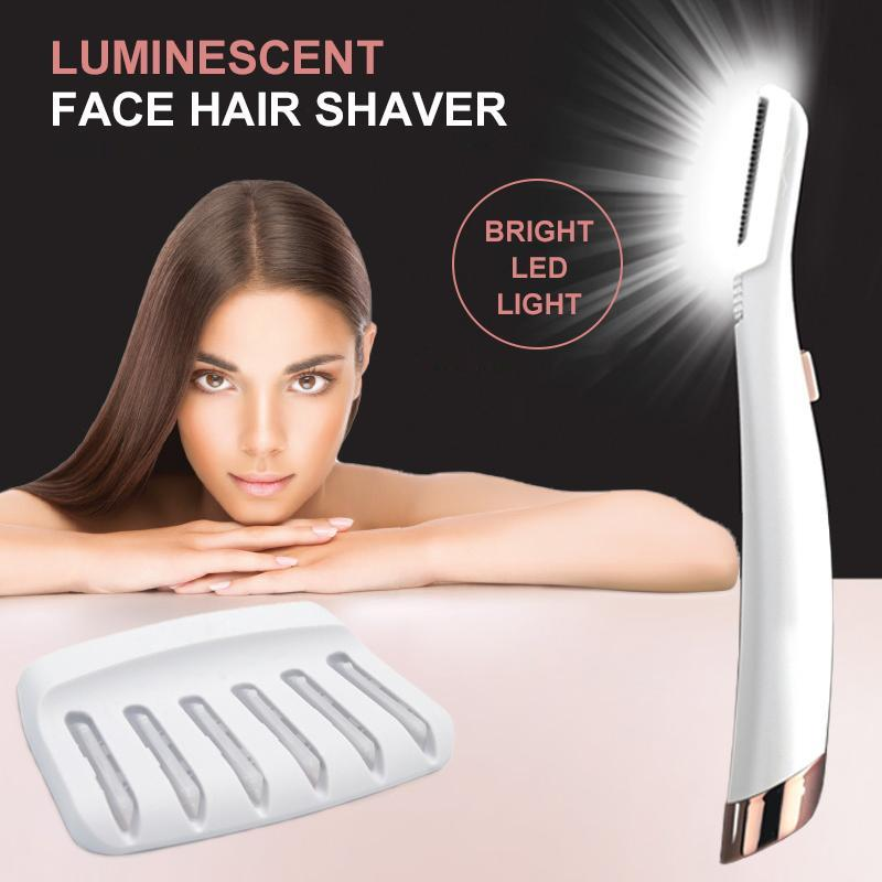 Luminous Facial Hair Shaver