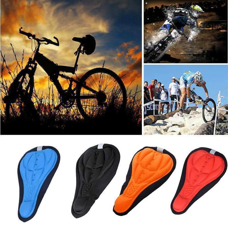 Cadevot™ 3D Silicone Soft Bike Seat Saddle Cover