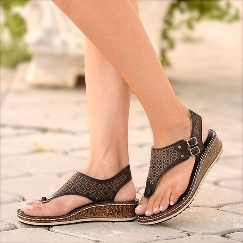 Cadevot™ Summer Wedged Sandals