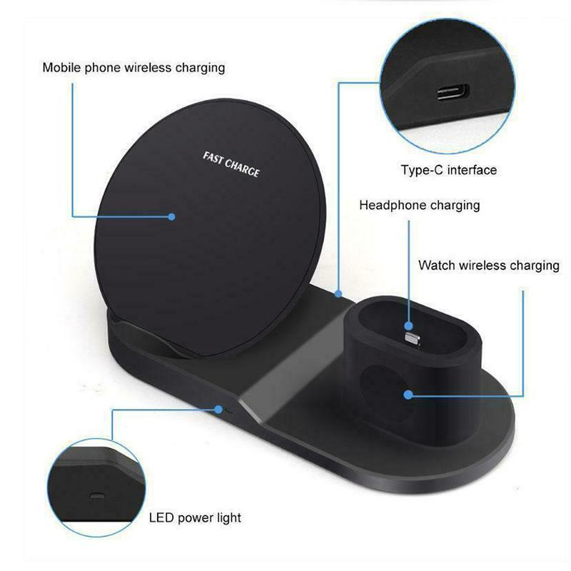 Cadevot™ 3 in 1 Wireless Charging Station