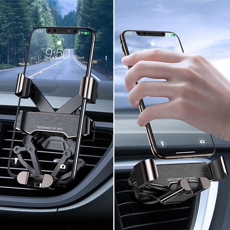 Upgraded Gravity Car Phone Holder