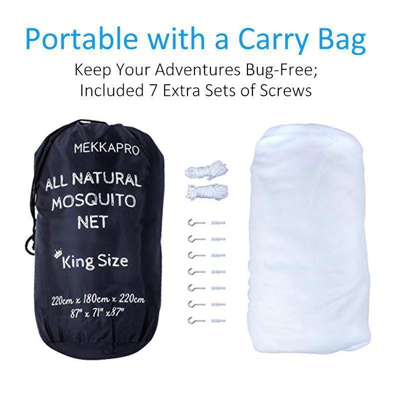 Cadevot ™ Ultra Large Mosquito Net with Carry Bag
