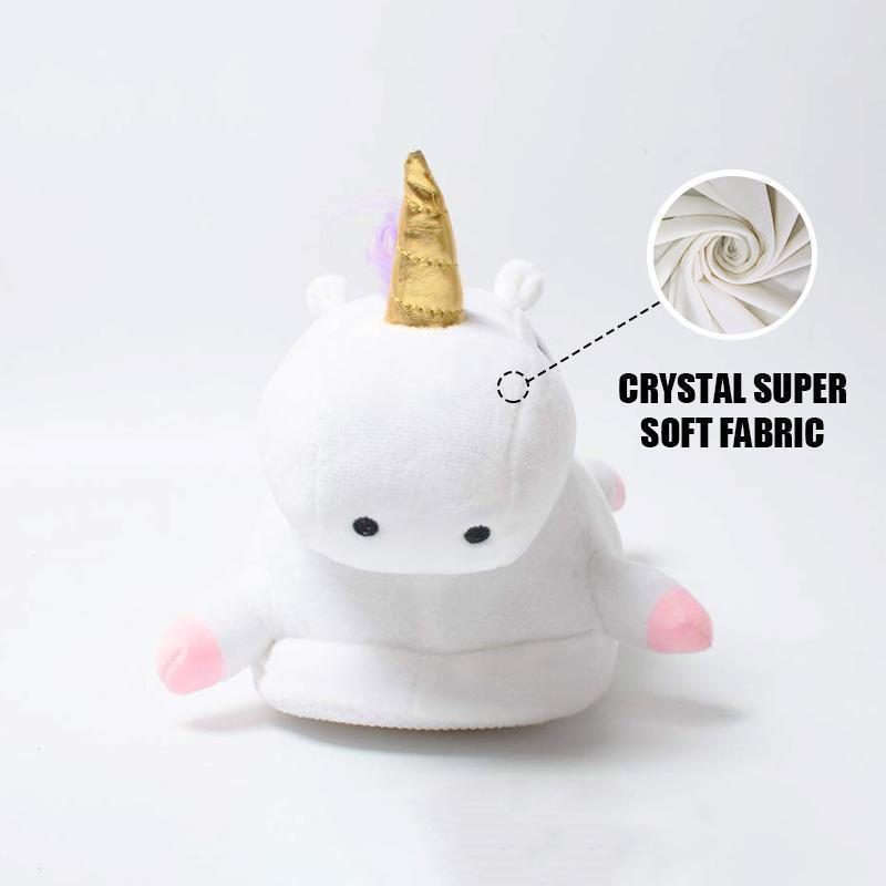 Indoor Warm Lovely Unicorn Slippers