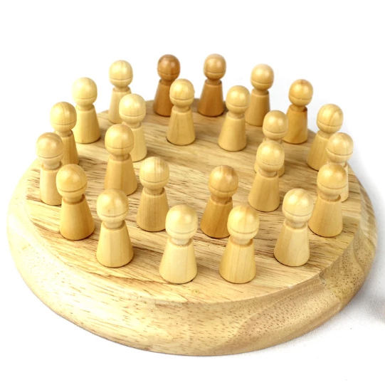 Wooden Memory Match Stick Chess