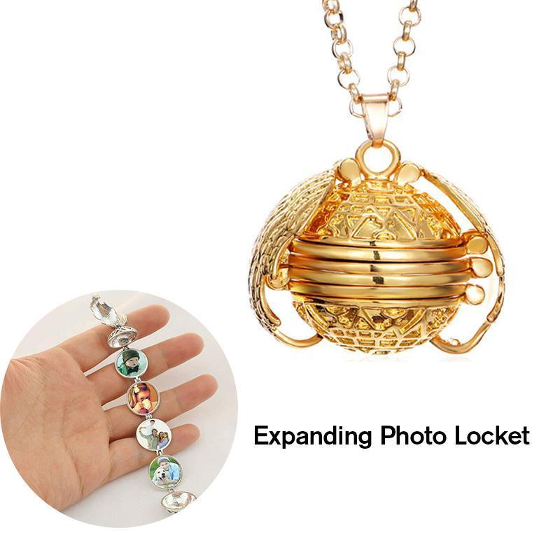 Expanding Photo Locket- BUY 1 & GET 1 FREE!