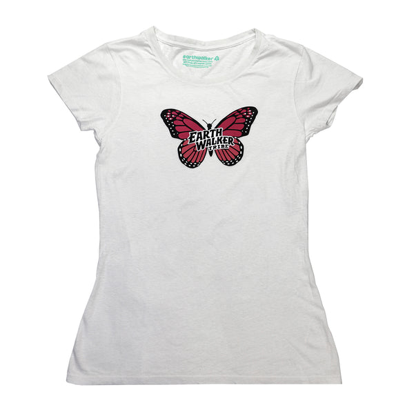 Monarch Hemp Tee (Snow)