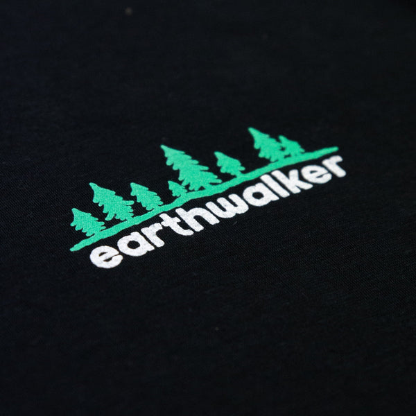 Forest logo Hemp Tee (Ebony)