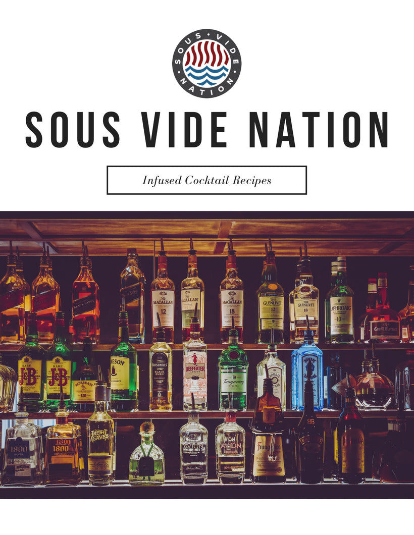 Sous Vide Nation Infused Cocktail E-Book