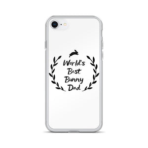 World's Best Bunny Dad iPhone Case