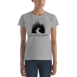 WOMEN'S GAME OF CARROTS T-SHIRT