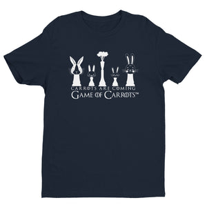 "MEN'S GAME OF CARROTS ""CARROTS ARE COMING"" T-SHIRT"