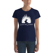 Load image into Gallery viewer, WOMEN'S GAME OF CARROTS T-SHIRT