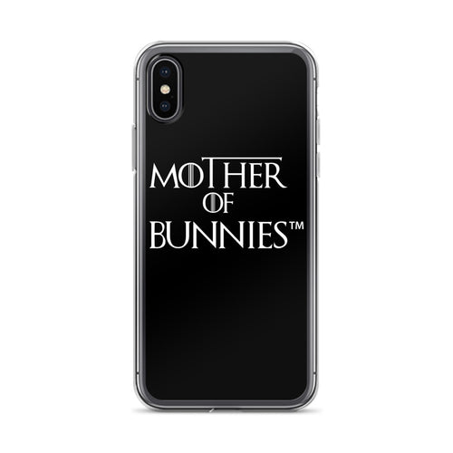 Mother Of Bunnies iPhone Case (Black)