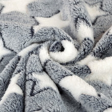 Load image into Gallery viewer, Soft Flannel Fleece Star Printed Bunny Blanket