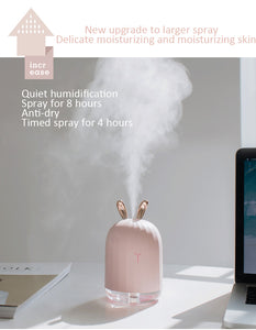 Mini Rabbit Air Purifier Aroma Diffuser