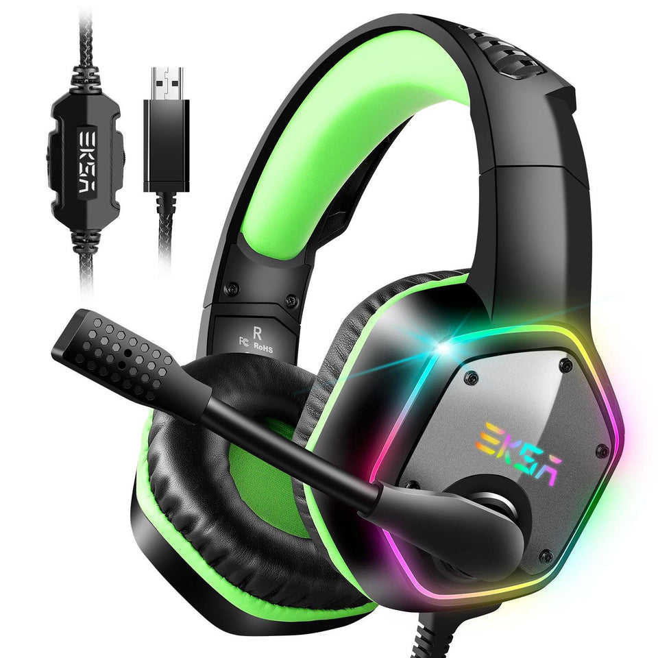 7.1 Virtual Surround  Headset Gamer WithMic - DamiTan