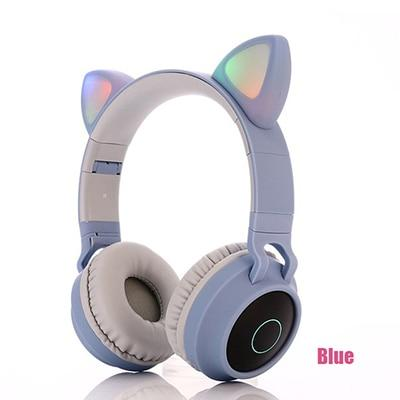 Kids Bluetooth Headphones With LED light - DamiTan