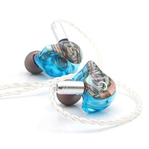 Linsoul GuideRay GR-i Series DD+BA Hybrid Dual Driver in-Ear Earphone with Detachable 2 Pin 0.78mm Cable  (GR-i18) - DamiTan