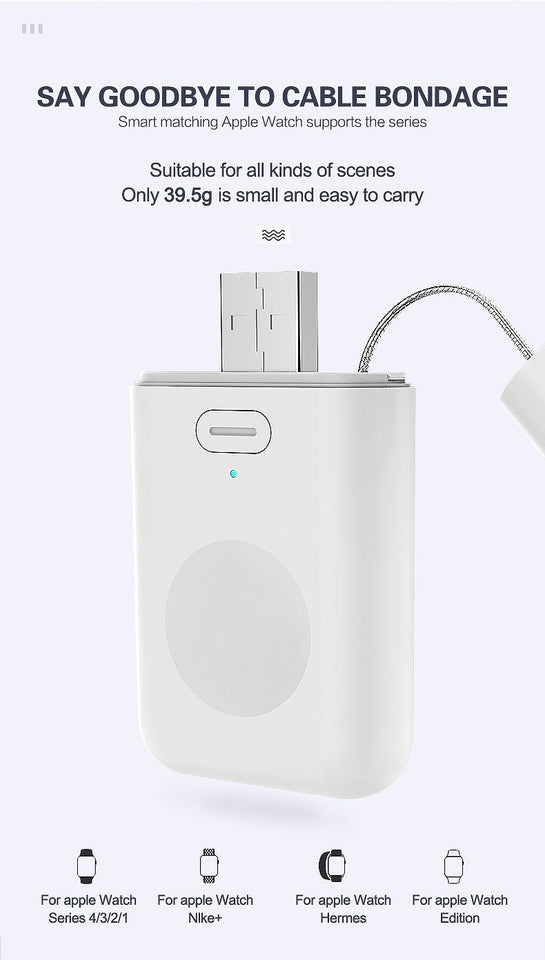 1000mAh Magnetic Portable Powerbank - DamiTan