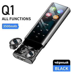 Water Proof  Wireless Earphone With Multi-function Power bank - DamiTan