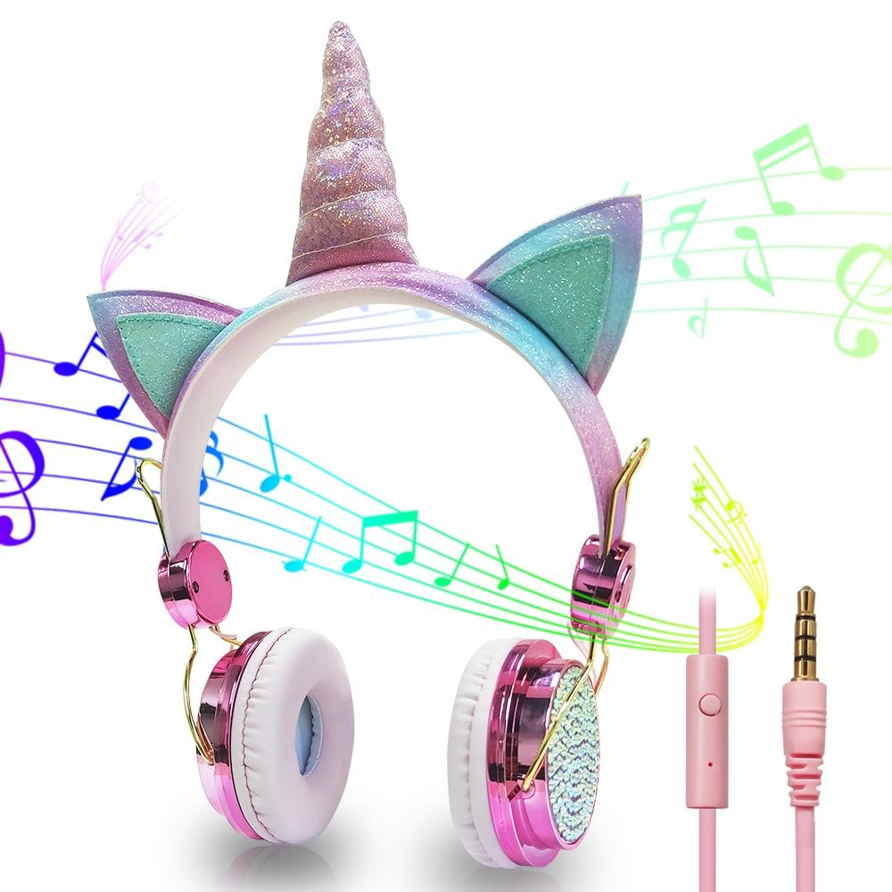 Unicorn Headphone For Kids - DamiTan