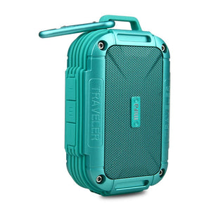 Green Bluetooth 4.0 Speaker IP56 Dust Proof Water Proof speaker,AUX.Camping Speakers Metal Housing Shock Resistance Speakers - DamiTan