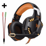 3.5mm Gaming Headset Casque Gamer Stereo With Microphone Mic - DamiTan