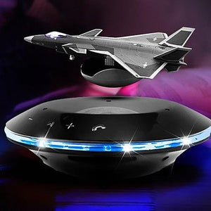 Speakers Fighter Style Magnetic Levitation With LED Lights - DamiTan