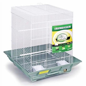 Clean Life Small Flight Cage - White