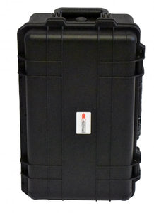 Double Alpha CED waterproof case with trolley
