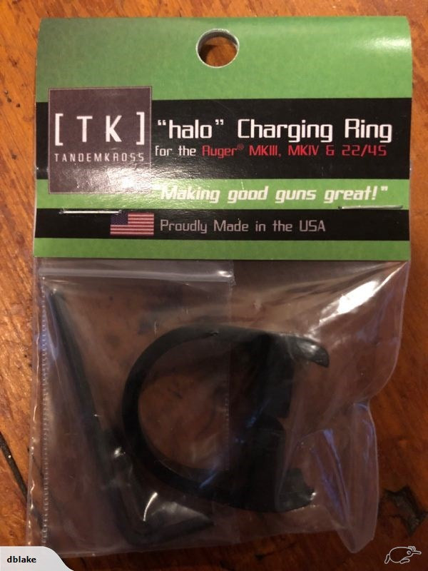 Tandem Kross halo charging ring