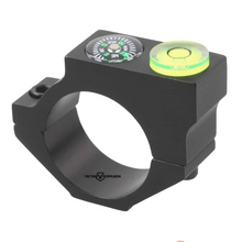 Load image into Gallery viewer, Tac Vector 25.4 mm acd bubble level ring and compass