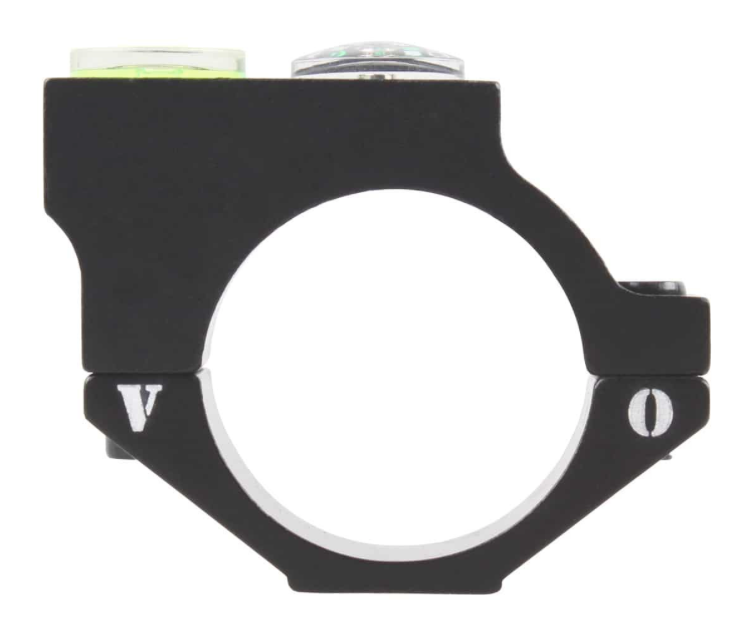 Tac Vector 30mm offset bubble ring with compass