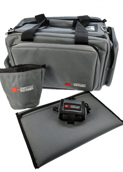 CED Deluxe Professional Range Bag black