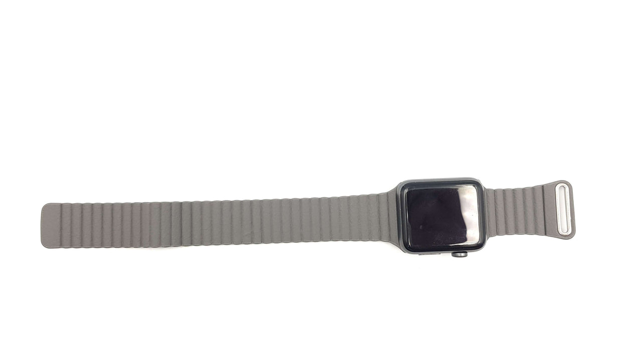 Bracelet Aimanté Cuir montre S/M - 38/40 mm | Apple Watch serie 1 2 3 4 5 - Streetiz