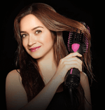 2-IN-1 Hair dryer and volumizer brush