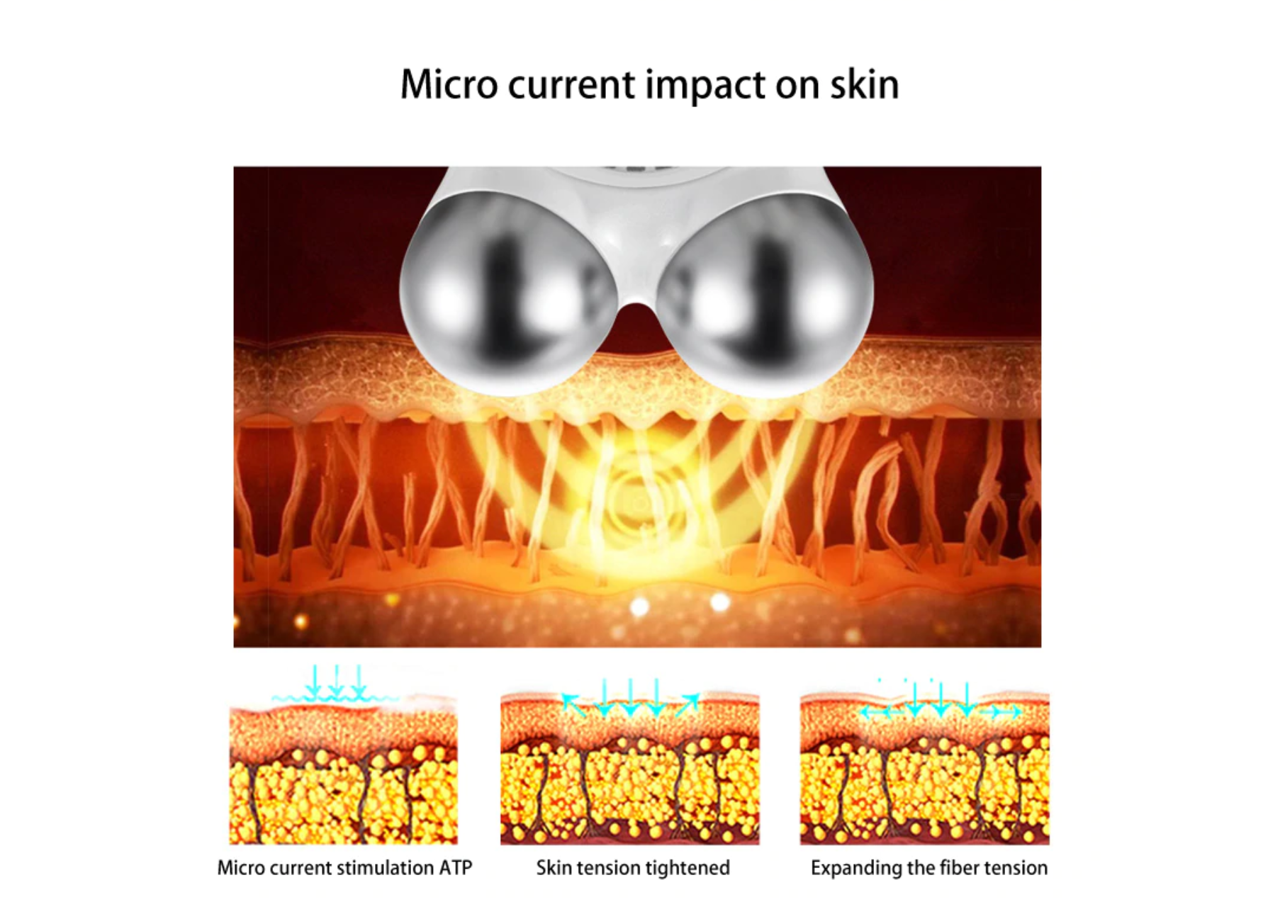 Microcurrent Face Lift Machine- Skin Care- Anti Aging Skin Tightening