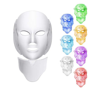 Galvanic LED Photon Light Therapy Face Mask