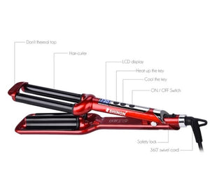Professional Best LCD display Curling iron