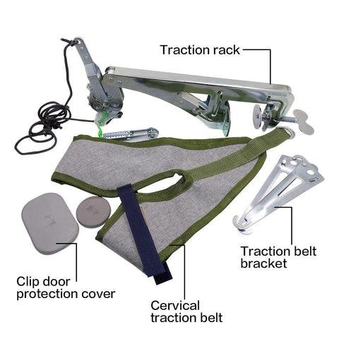 Over The Door Neck Traction Device