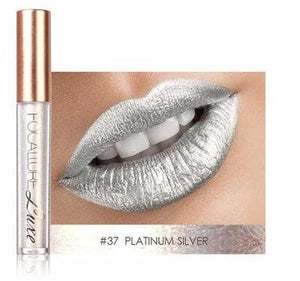 LilyVanity™ KISSPROOF Waterproof Metallic Glossy Lipstick
