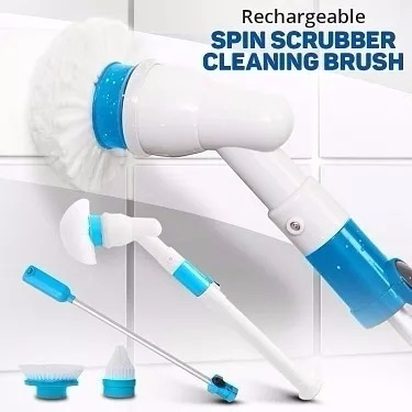 360 Turbo Scrub 360 Cordless Rechargeable Floor Scrubber And Tile Cleaning Machine