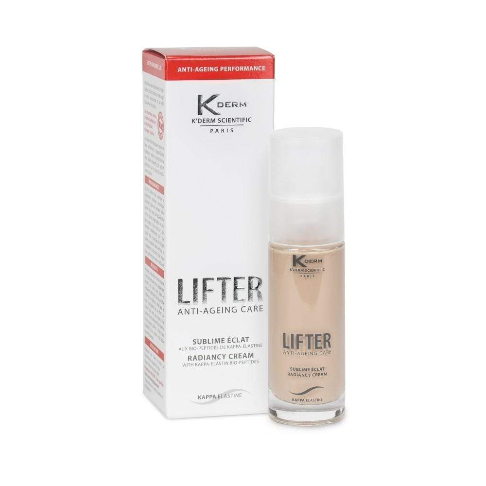 Vivaligne K'derm Lifter Radiancy Cream - for a healthy glow - anti-wrinkle medical cream with kappa-elastin - 30ml cosmetic KDerm - Vivaligne EKDERM05