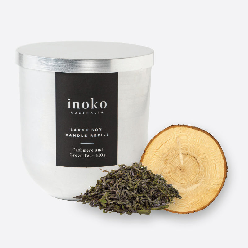 Cashmere Green - Inoko - Large Candle Refill
