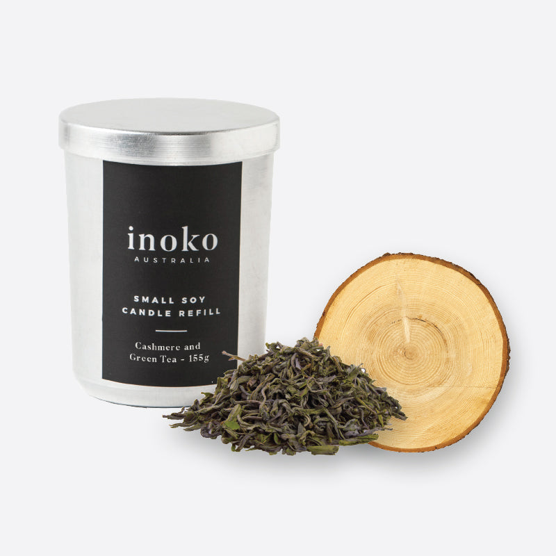 Cashmere Green - Inoko - Small Candle Refill