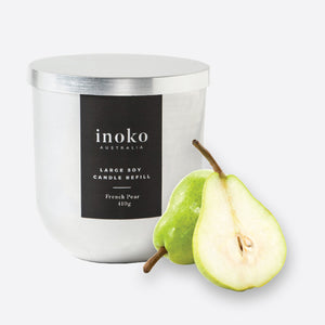 French Pear - Inoko - Large Candle Refill