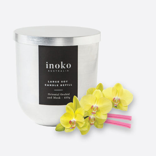 Oriential Musk - Inoko - Large Candle Refill