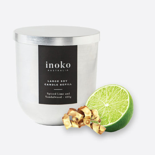 Spiced Lime - Inoko - Large Candle Refill