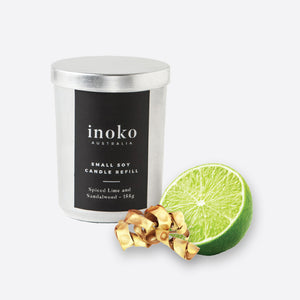 Spiced Lime - Inoko - Small Candle Refill